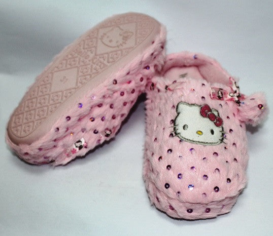 ea6235be6 HELLO KITTY KIDS BEDROOM SLIPPERS- PINK K 2353 [MADE IN TAIWAN ...