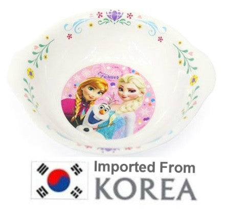 FROZEN ELSA & ANNA KIDS MELAMINE BOWL (460ml) [FROM KOREA]