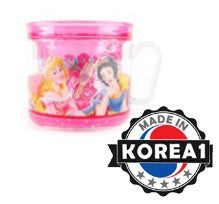 DISNEY PRINCESS GLITTERED MINI CUP [MADE IN KOREA]