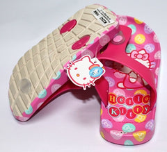 HELLO KITTY KIDS SLIPPERS- DARK PINK K 3242 [MADE IN TAIWAN]