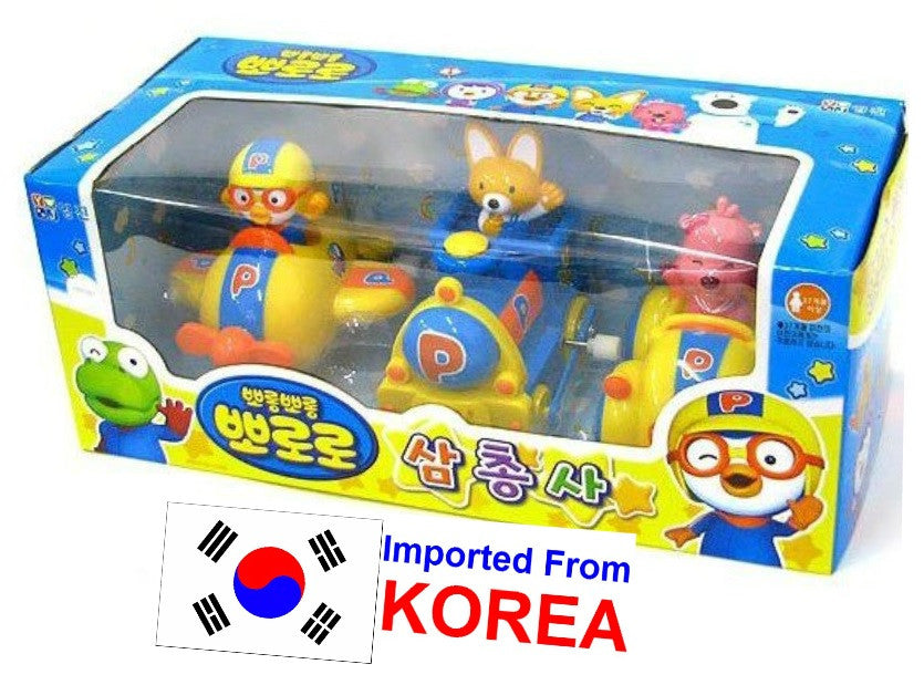 PORORO TRANSPORT VEHICLES (3PCS SET)