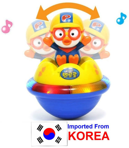 PORORO TUMBLING TOY WITH LIGHT