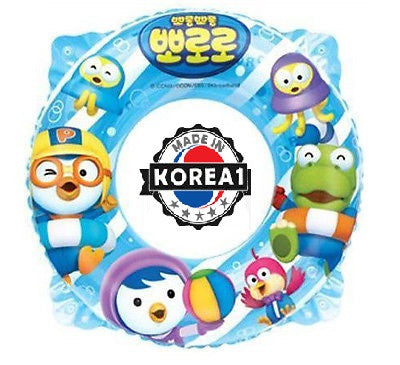 PORORO SWIMMING FLOAT FOR KIDS [INFLATABLE 65 CM] [MADE IN KOREA]
