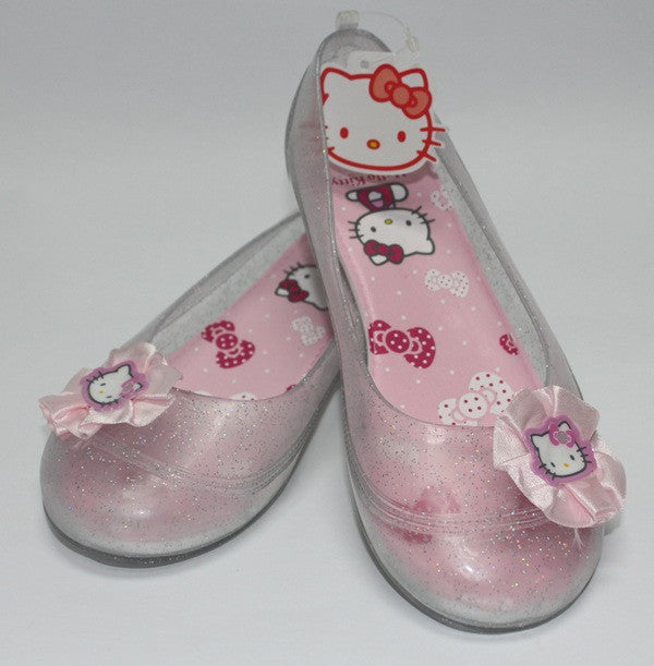 HELLO KITTY KIDS JELLY SHOES-WHITE K 3159 [MADE IN TAIWAN]