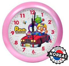 PORORO WALL CLOCK-CAR (BIG)
