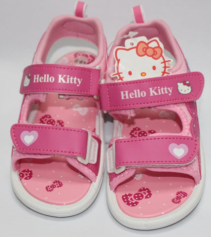 HELLO KITTY KIDS SANDALS- PINK K 3166 [MADE IN TAIWAN]