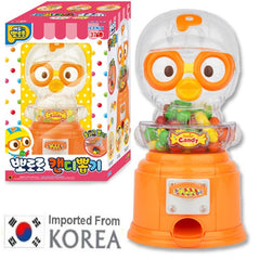 PORORO 3D CANDY DISPENSER MACHINE TOY SET [FROM KOREA]