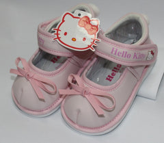 HELLO KITTY BABY SHOES WITH BEEP- PINK K 3178 [MADE IN TAIWAN]