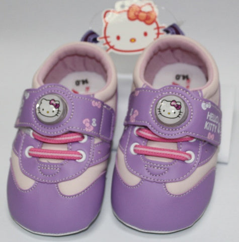 HELLO KITTY BABY SHOES- PURPLE K 3146 [MADE IN TAIWAN]
