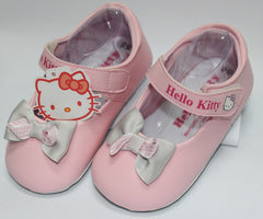 HELLO KITTY BABY SHOES- RIBBON PINK K 3164 [MADE IN TAIWAN]