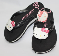 HELLO KITTY KIDS SLIPPERS-FACE BLACK K 3103 [MADE IN TAIWAN]