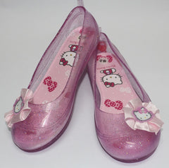 HELLO KITTY KIDS JELLY SHOES- PINK K 3159 [MADE IN TAIWAN]
