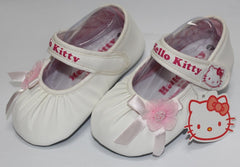 HELLO KITTY BABY SHOES-FLOWER WHITE K 3165 [MADE IN TAIWAN]