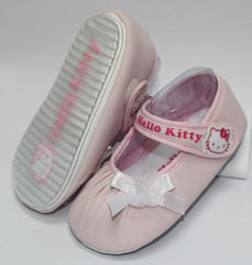 HELLO KITTY BABY SHOES- FLOWER PINK K 3165 [MADE IN TAIWAN]