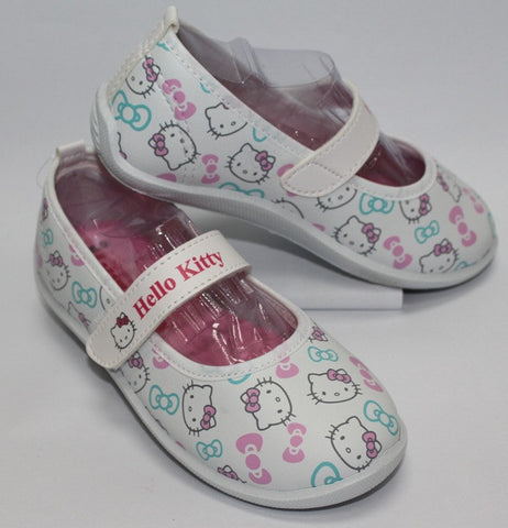 HELLO KITTY KIDS SHOES - WHITE K 3179 [MADE IN TAIWAN]
