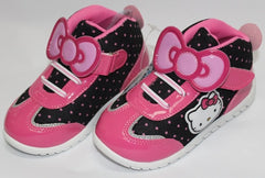 HELLO KITTY KIDS SHOES - RIBBON BLACK K 713506 [MADE IN TAIWAN]
