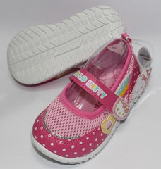 HELLO KITTY KIDS SHOES- DOTS PINK K 714707 [MADE IN TAIWAN]