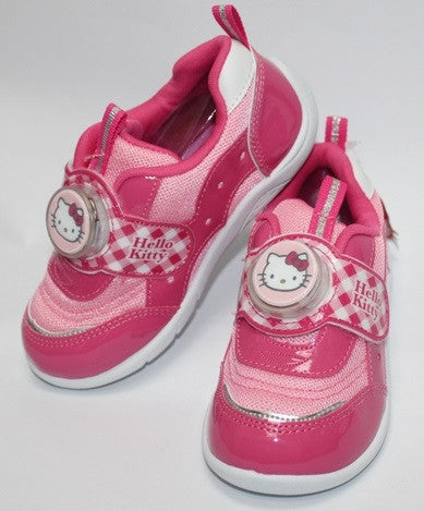 HELLO KITTY KIDS SHOES WITH FLASHING LIGHT-PINK K 712329 [MADE IN TAIWAN]
