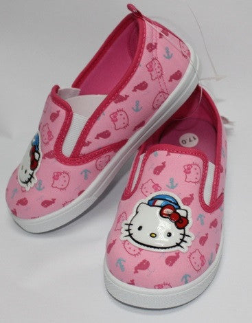 HELLO KITTY FABRIC KIDS SHOES-PINK K 714721 [MADE IN TAIWAN]