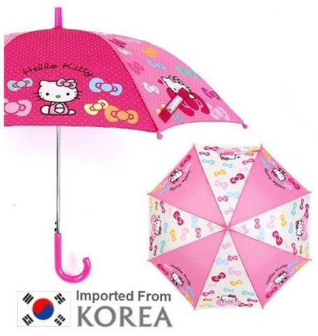 HELLO KITTY UMBRELLA (KOREA)- DARK PINK
