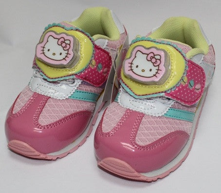HELLO KITTY KIDS SHOES WITH FLASHING LIGHTS -PINK K 714740