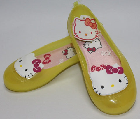 HELLO KITTY KIDS JELLY SHOES- LIME K 3155 [MADE IN TAIWAN]