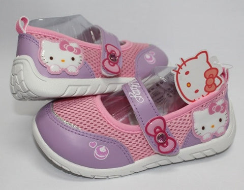 HELLO KITTY KIDS SHOES - PURPLE K 712302 [MADE IN TAIWAN]