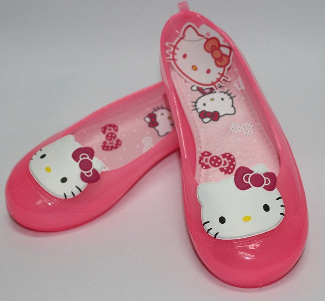 HELLO KITTY KIDS JELLY SHOES-PINK K 3155 [MADE IN TAIWAN]