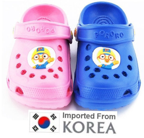 PORORO KIDS EVA SANDALS SHOES -PINK [FROM KOREA]