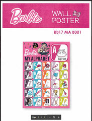 BARBIE MY ALPHABETS EDUCATIONAL POSTER -BB17 MA B001