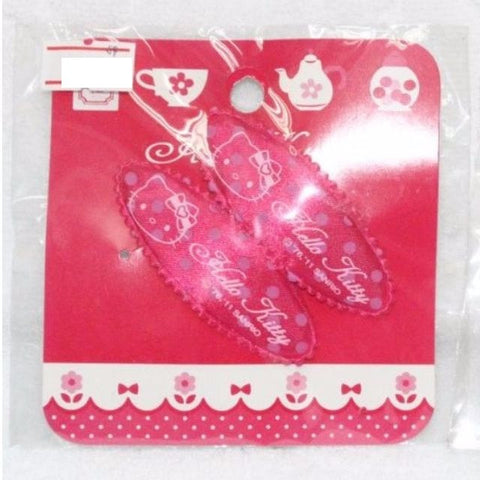 HELLO KITTY HAIRCLIPS D.PINK KT 595S