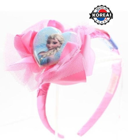 [MADE IN KOREA] FROZEN ELSA PRINCESS HAIR BAND- PINK