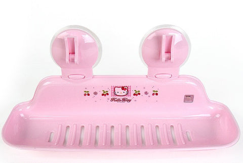 HELLO KITTY BATHROOM HOLDER (LIGHT PINK) [MADE IN KOREA]