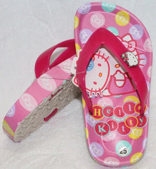 HELLO KITTY KIDS SLIPPERS- DARK PINK K 814648 [MADE IN TAIWAN]