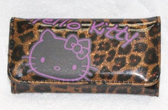 HELLO KITTY KEY POUCH LEOPARD