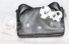 HELLO KITTY POUCH- BLACK