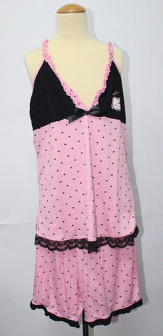 HELLO KITTY ADULT SLEEVELESS SLEEPWEAR KT 9990