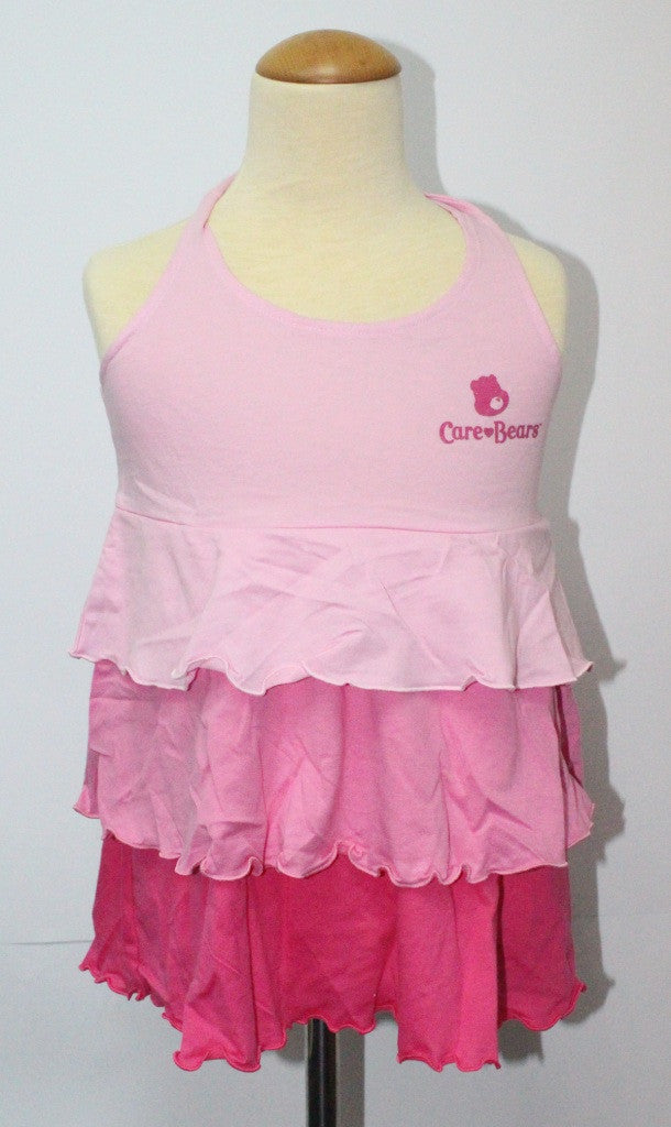 CARE BEARS KIDS COTTON BAREBACK TOP - PINK CB 01108