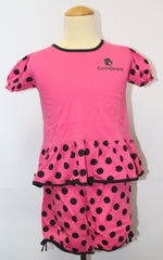 CARE BEARS KIDS TOP & SHORTS SET- DARK PINK CB 1106A