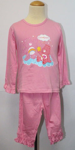 CARE BEARS COTTON KIDS SLEEPWEAR-LIGHT PINK CB 31081
