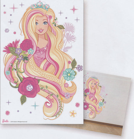 BARBIE ROSE WALL STICKER - BB16-ST B004