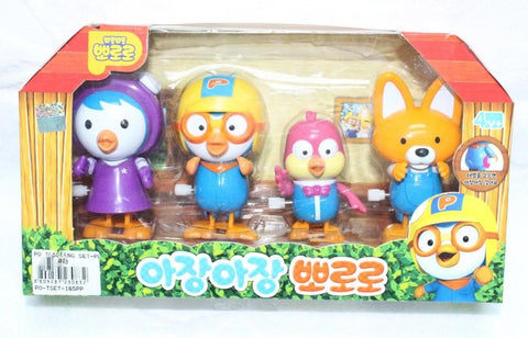 PORORO & FRIENDS TODDLING SET (PETTY, PORORO, HARRY & EDDY)