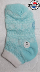 KOREA COTTON KIDS SOCKS- MOTHER & ME [SIZE 3] [AGE 5-6] [MADE IN KOREA]
