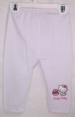 HELLO KITTY BABY COTTON PANTS KT 22016 -WHITE