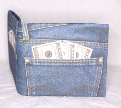 NOTE WALLET (JEANS DESIGN)