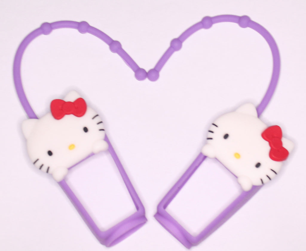 HELLO KITTY SANITIZER HOLDER - PURPLE ONLY