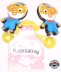 PORORO HAIR RUBBER BANDS 2PCS SET [MADE IN KOREA]