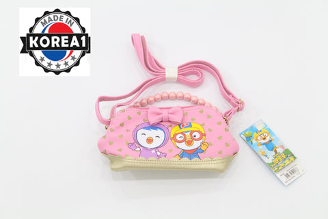 PORORO & PETTY SLING BAG- LIGHT PINK
