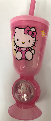 HELLO KITTY TUMBLER - AQUA DOME