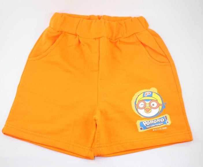 PORORO KIDS SHORTS / PANTS - ORANGE [MADE IN KOREA]
